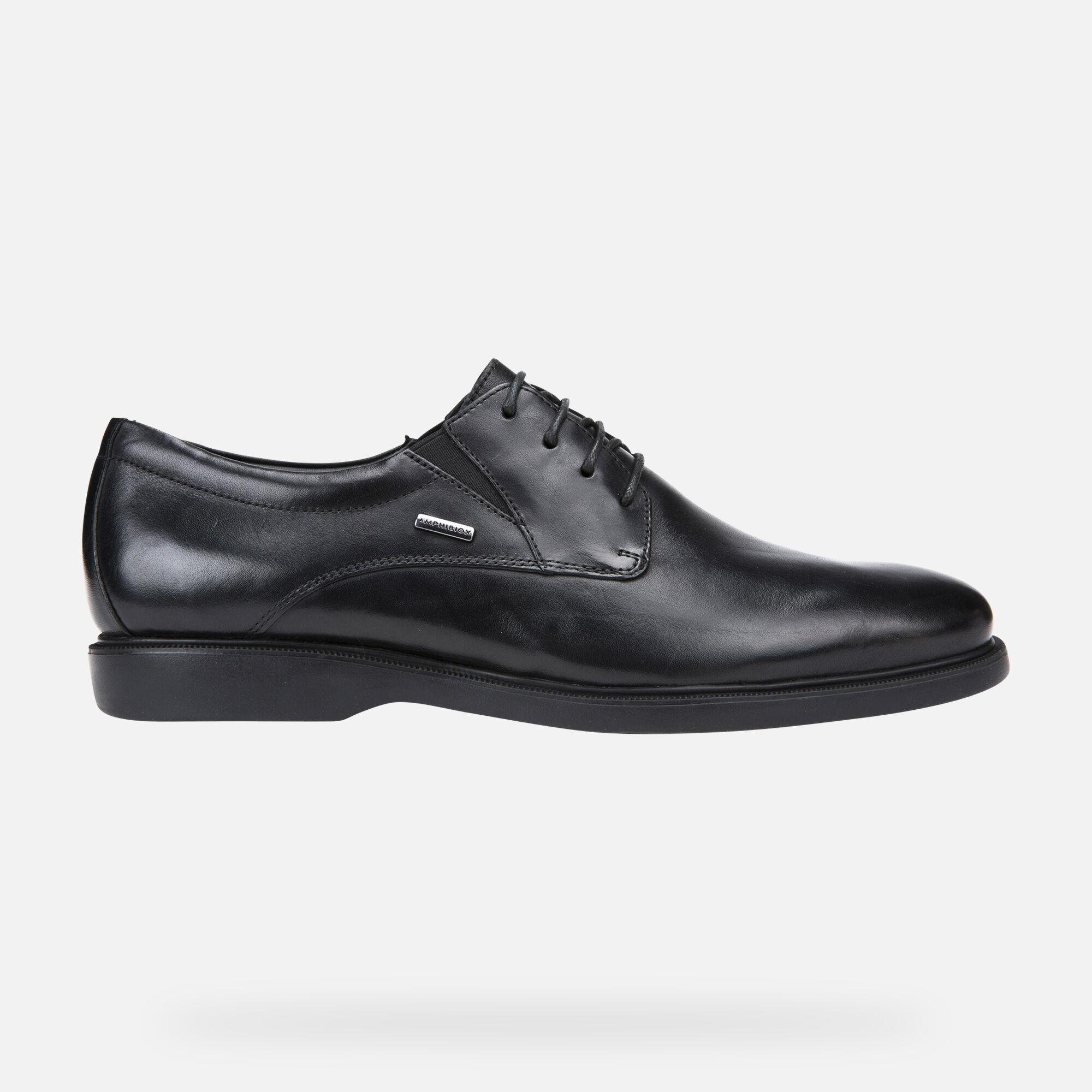 Geox BRAYDEN 2FIT ABX Man: Black Shoes