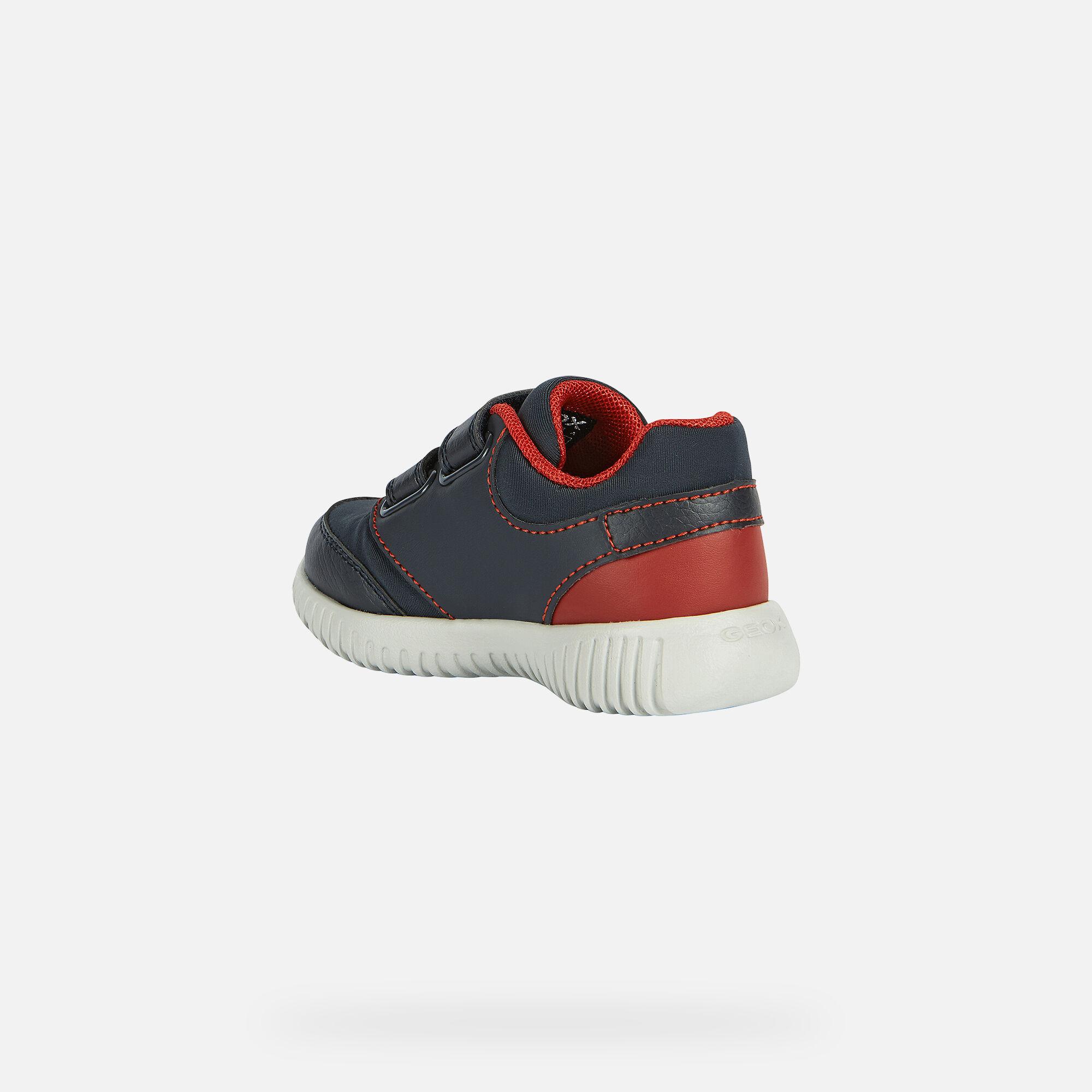 Baby Boy: Navy blue Sneakers | Geox® FW20