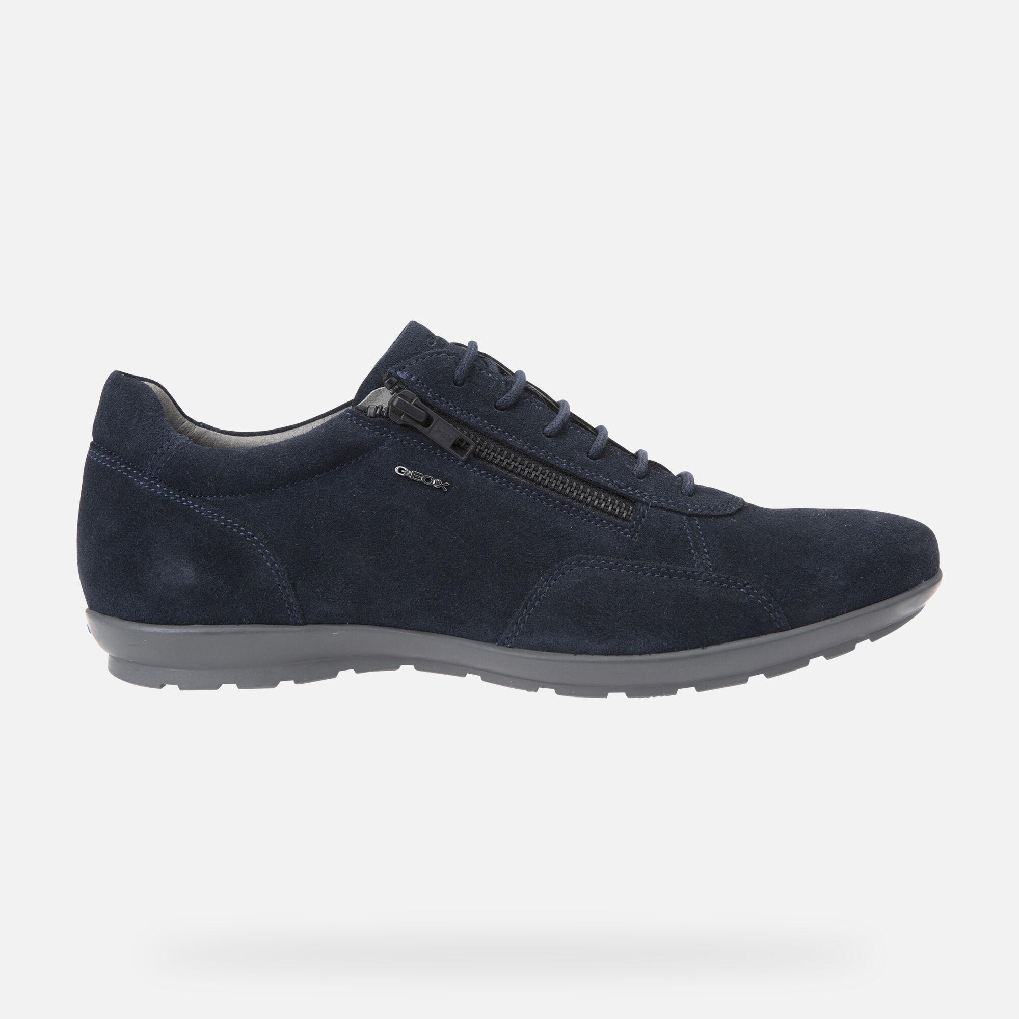 Geox UOMO SYMBOL Man: Navy blue Shoes