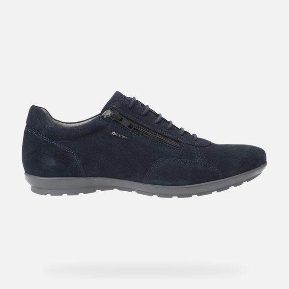 Lugar de nacimiento Vatio erección  Geox UOMO SYMBOL Man: Navy blue Shoes | Geox® Online Store
