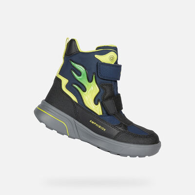 LIGHT-UP SHOES BOY GEOX SVEGGEN ABX BOY