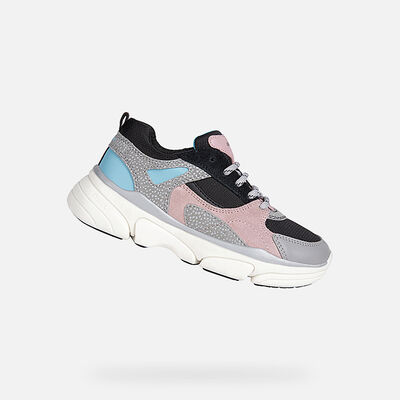 SNEAKERS GIRL GEOX LUNARE GIRL