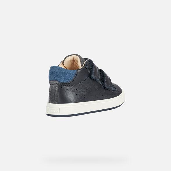 FIRST STEPS BABY GEOX BIGLIA BABY BOY - NAVY BLUE