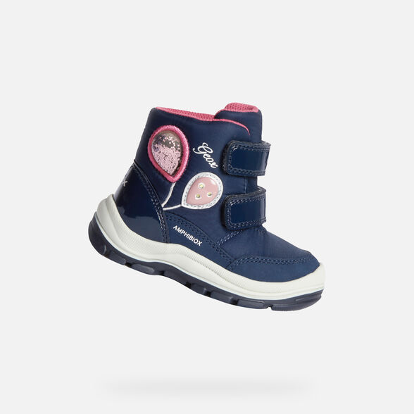 LIGHT-UP SHOES BABY GEOX FLANFIL BABY GIRL ABX - 1