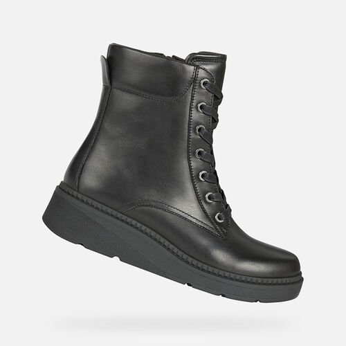ANKLE BOOTS WOMAN GEOX NAHALA WOMAN - null