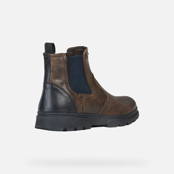 BOTTES HOMME GEOX CLINTFORD ABX HOMME - 5
