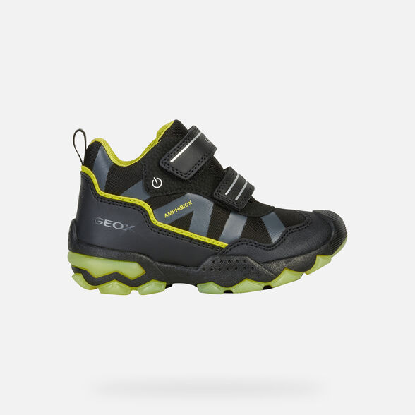 LIGHT-UP SHOES BOY GEOX BULLER ABX BOY - 2
