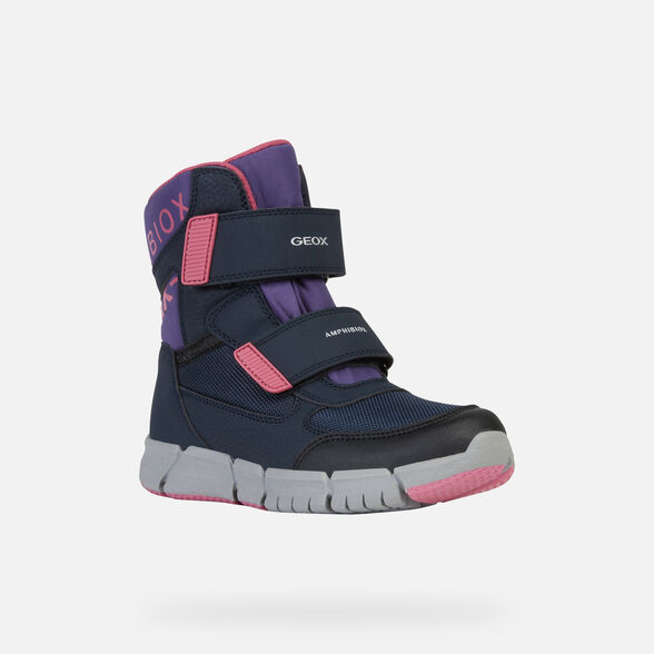 GIRL ANKLE BOOTS GEOX FLEXYPER GIRL ABX - 3
