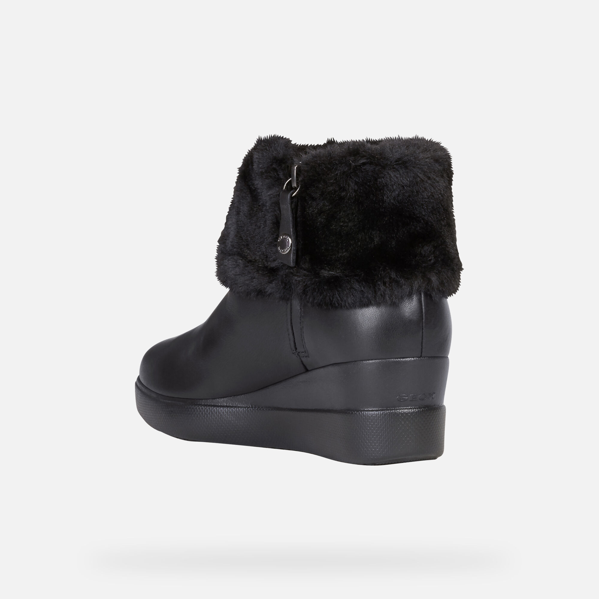 Geox STARDUST Woman: Black Ankle Boots   Geox ® Official Store