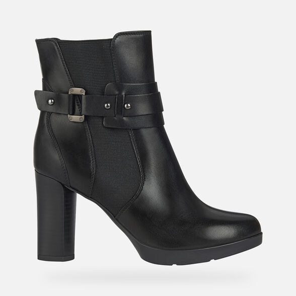WOMAN ANKLE BOOTS GEOX ANYLLA HIGH WOMAN - 2