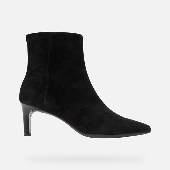 HEELED ANKLE BOOTS WOMAN GEOX BIBBIANA WOMAN - 2