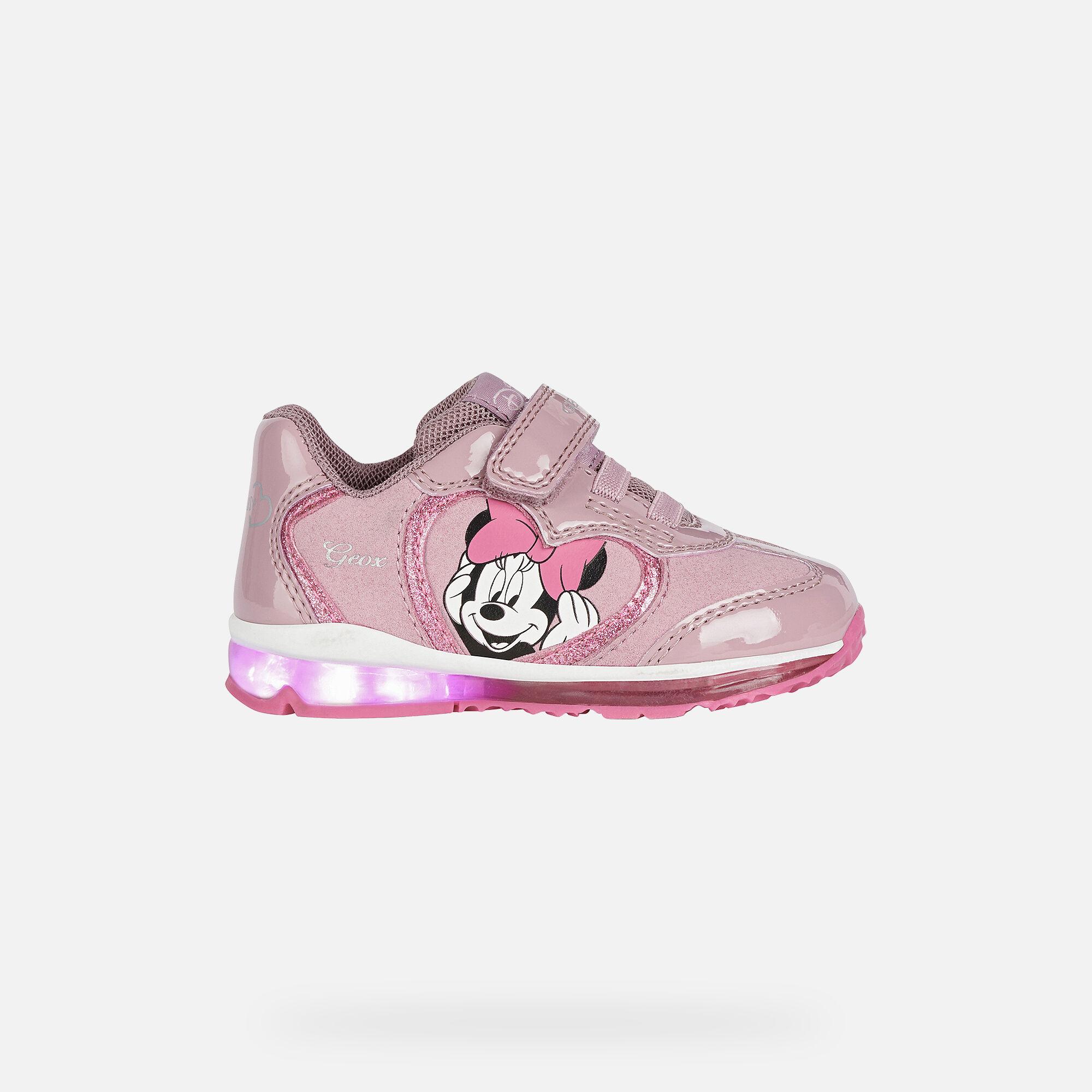 Geox TODO GIRL Baby Girl: Pink Sneakers