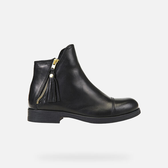 GIRL ANKLE BOOTS GEOX AGATA GIRL - 2