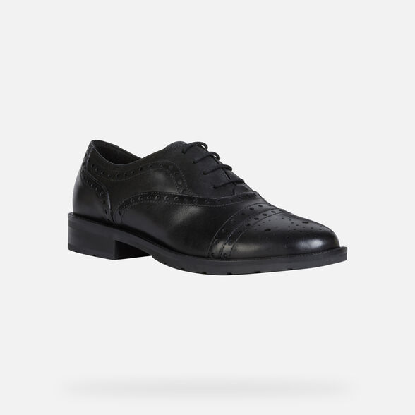 LACE UPS AND BROGUES WOMAN GEOX BETTANIE WOMAN - 3