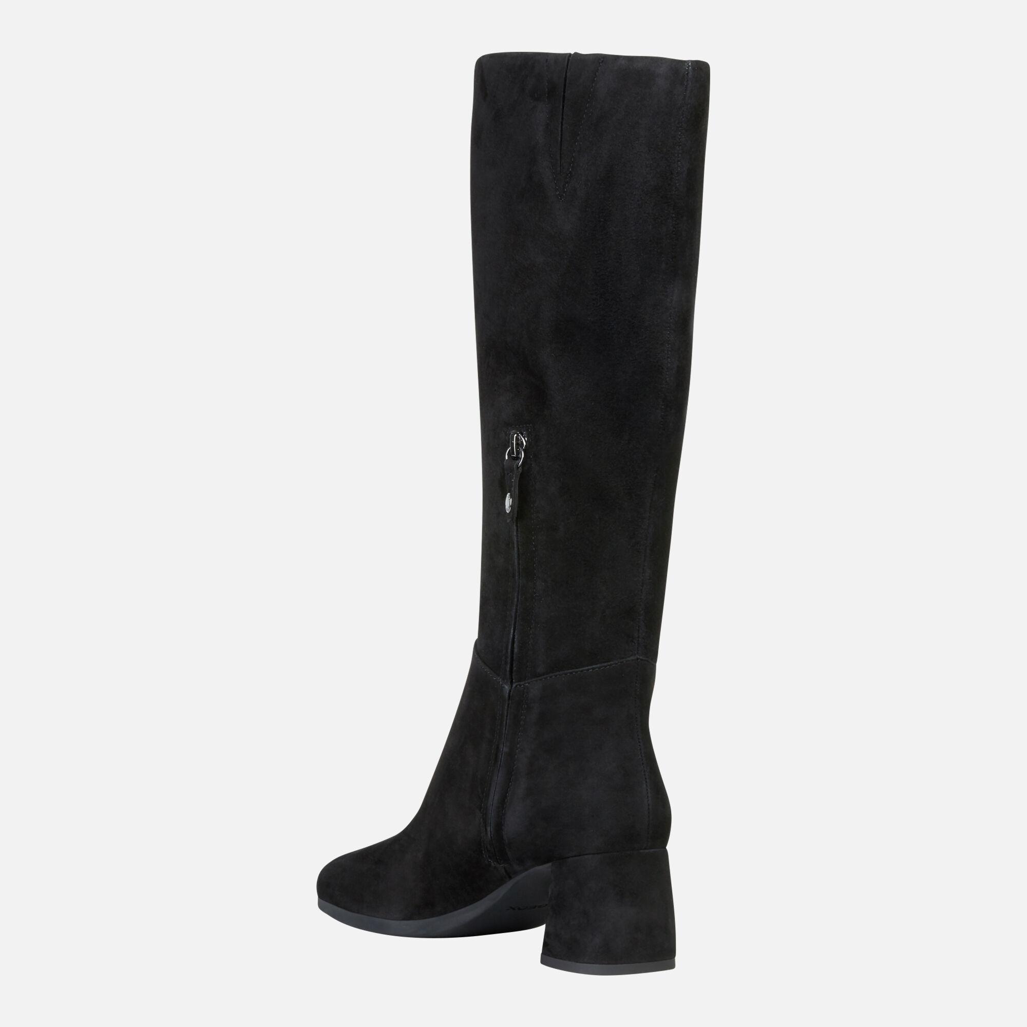 Geox CALINDA MID Donna: Stivali Con Tacco Neri | Geox ®