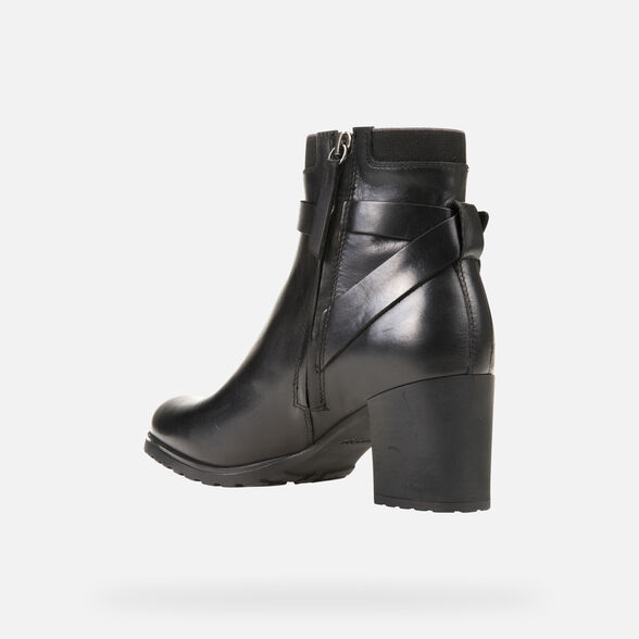 ANKLE BOOTS WOMAN GEOX NEW LISE ABX WOMAN - 4