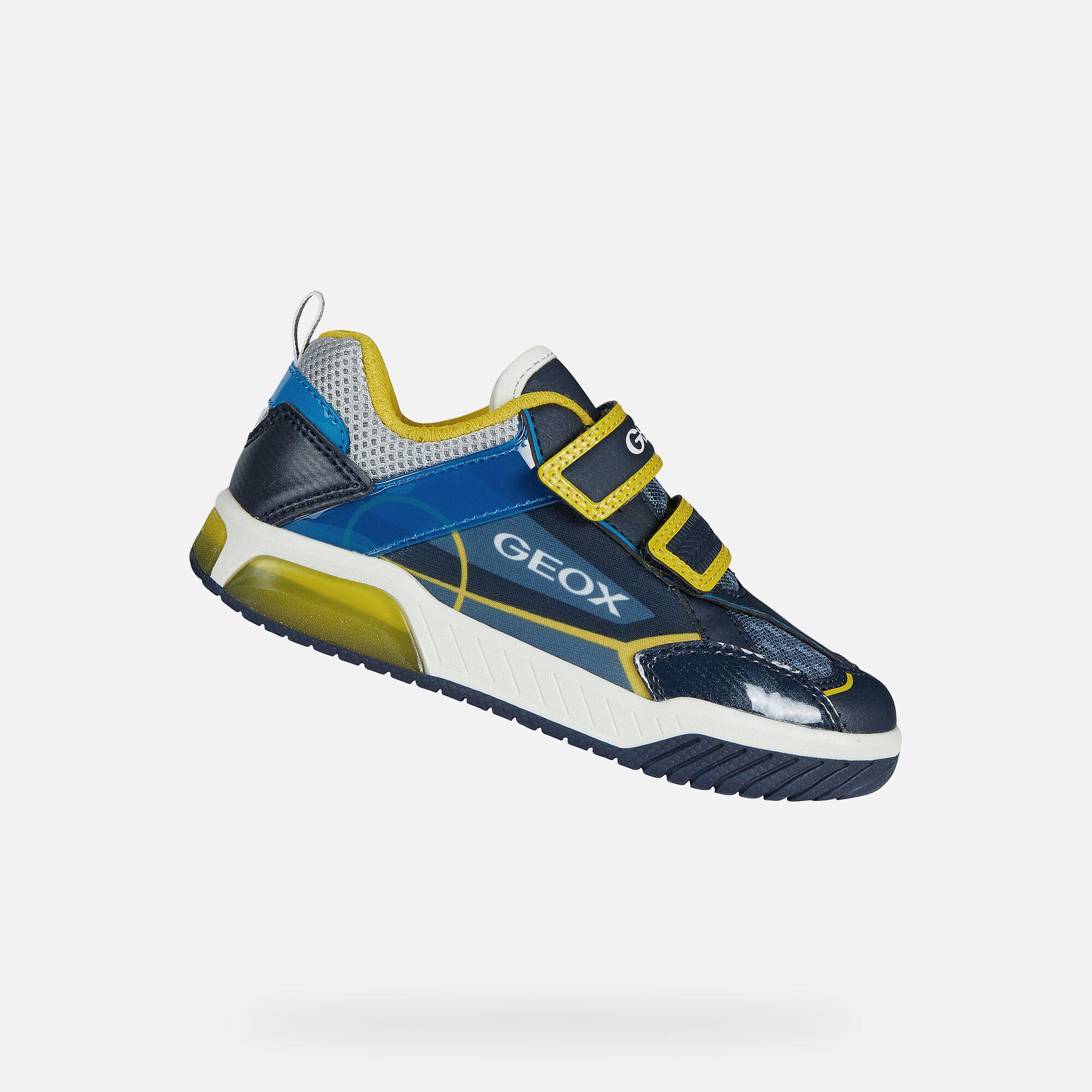 Geox INEK Boy: Navy Sneakers | Geox