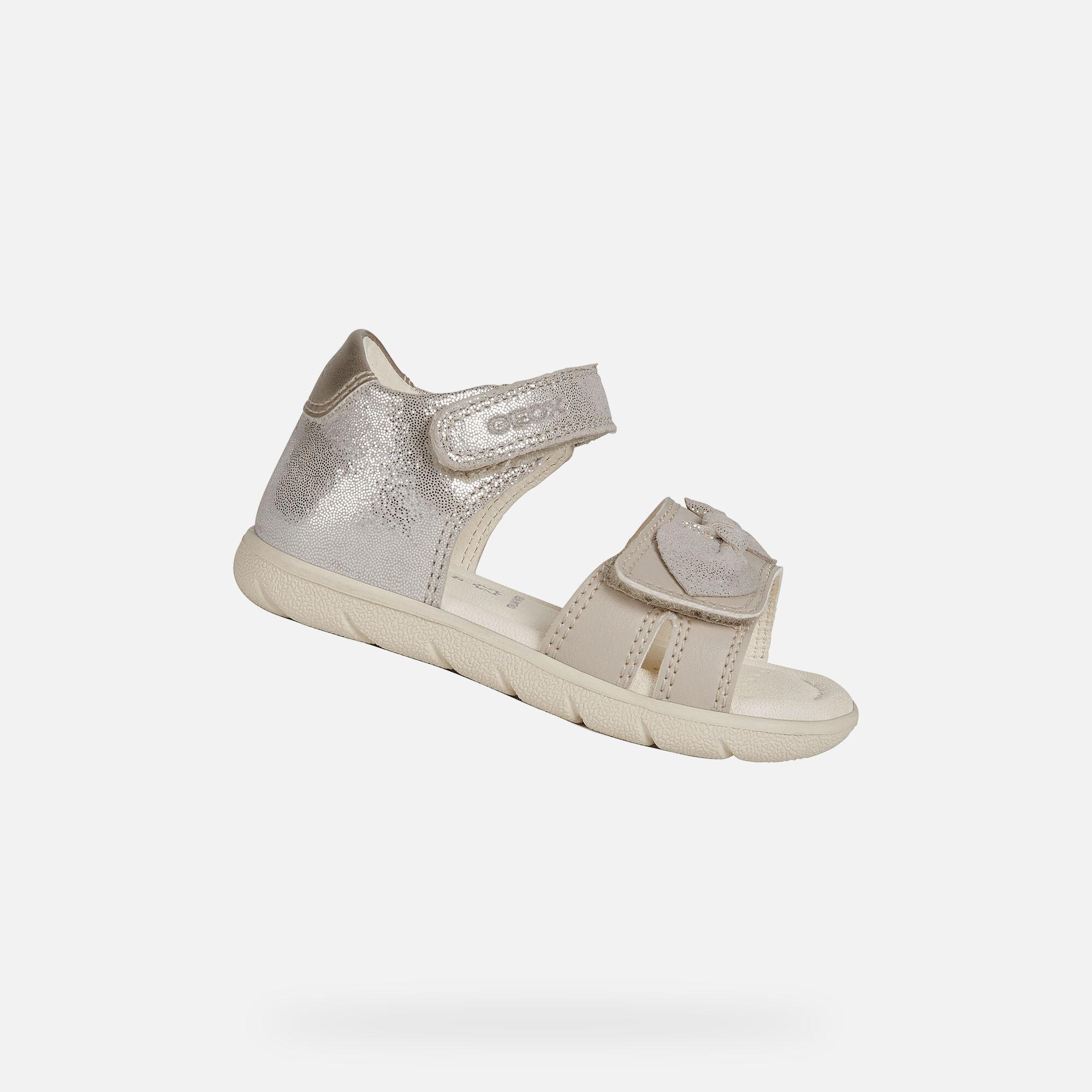Geox ALUL Baby Girl: Beige Sandals