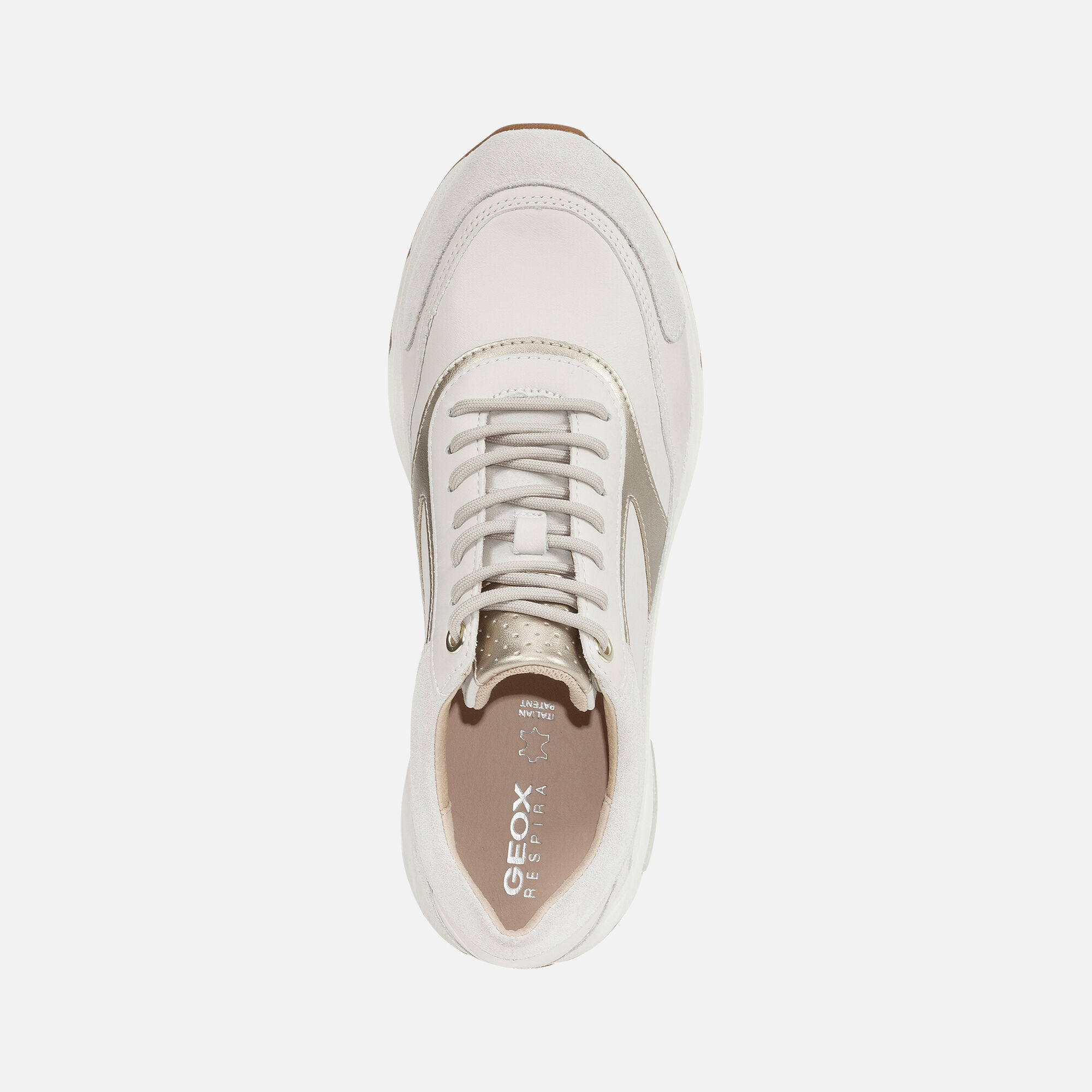 Mujer Geox ALHOUR MUJER Off White | Sneakers