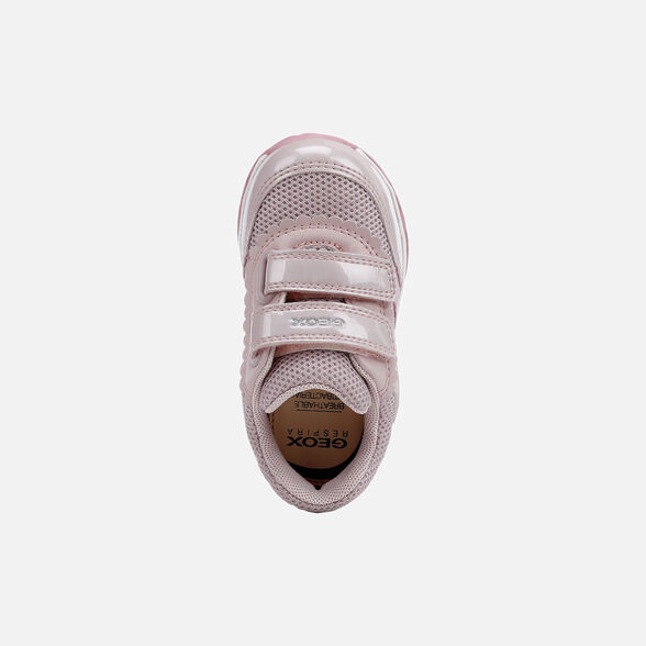 BABY LIGHT-UP SHOES GEOX TODO BABY GIRL - 6