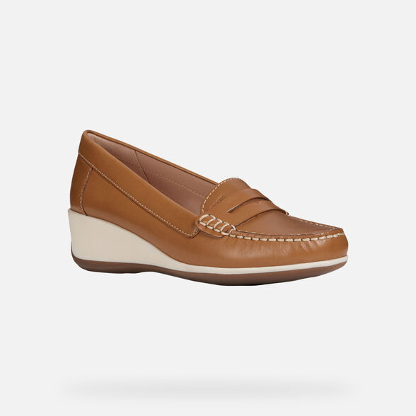 WOMAN LOAFERS GEOX ARETHEA WOMAN - 3