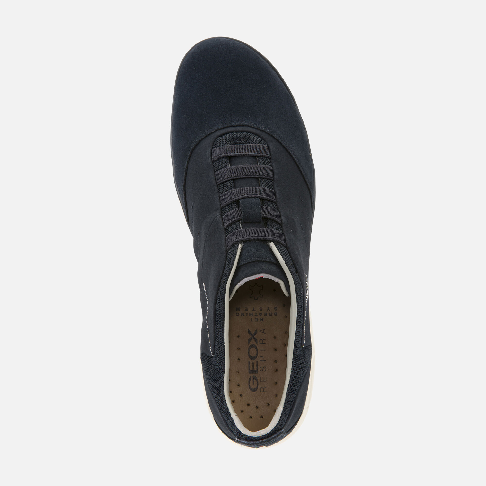 Details about Geox Nebula Slip On Sports Shoes Mens Navy Trainers Leather Suede UK 7 11