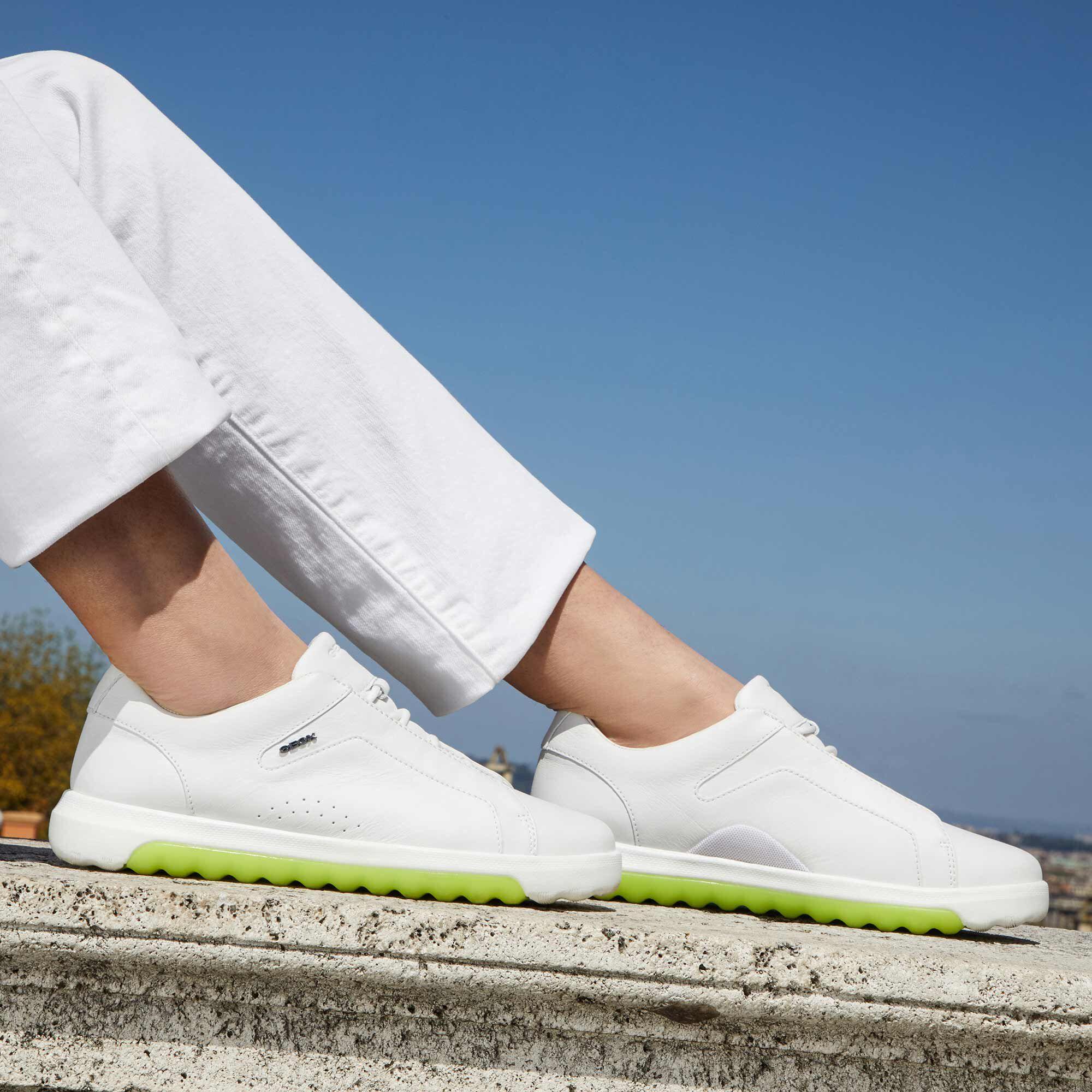 Geox NEXSIDE Woman White Sneakers | Geox FW1920