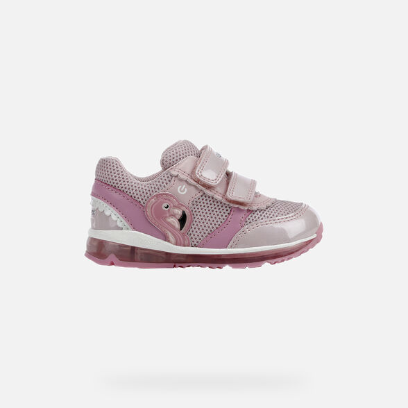 BABY LIGHT-UP SHOES GEOX TODO BABY GIRL - 2