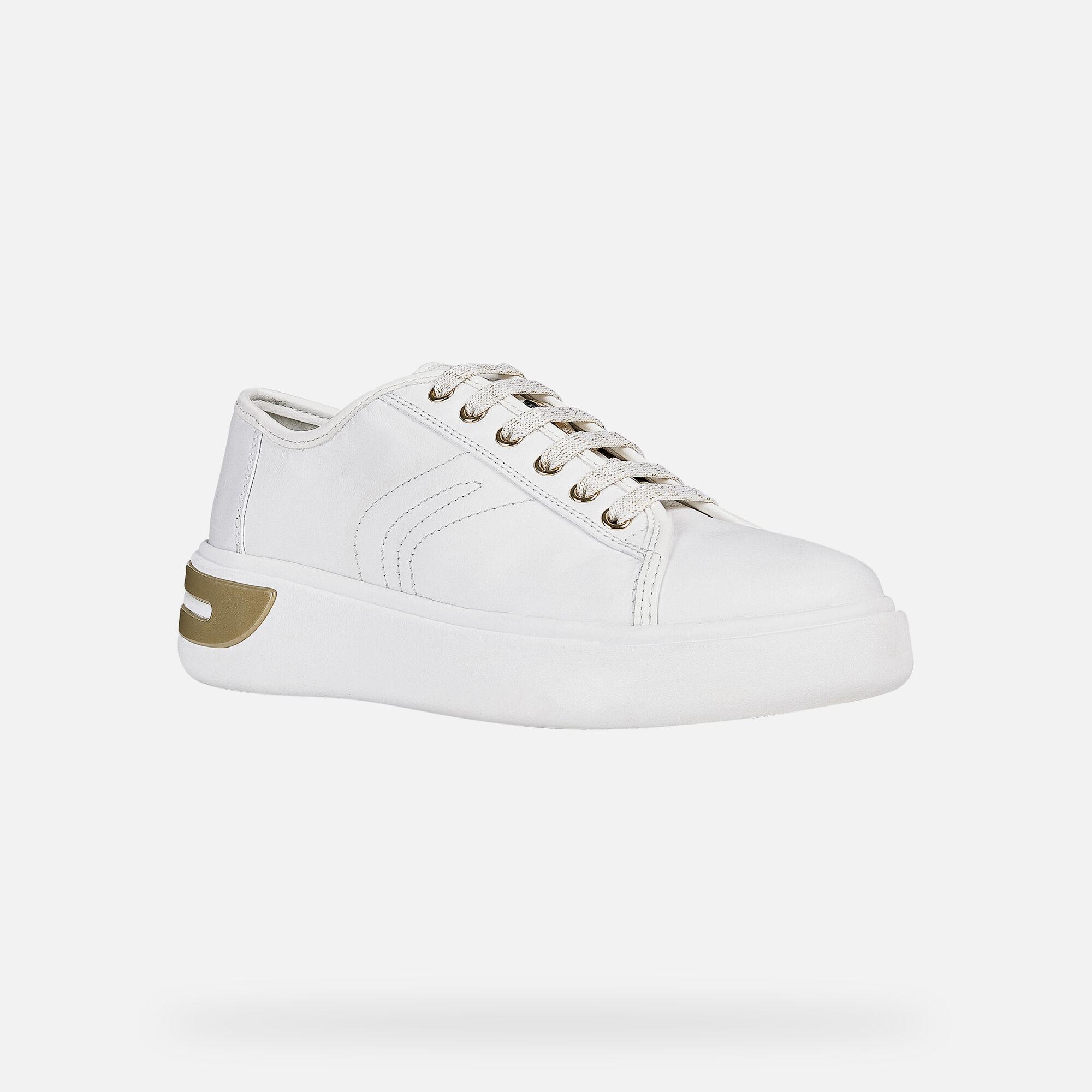 Geox OTTAYA Woman: White Sneakers