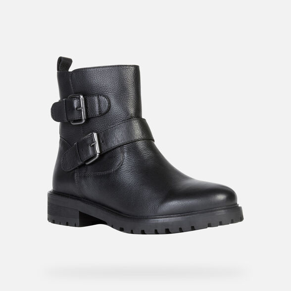 WOMAN ANKLE BOOTS GEOX HOARA WOMAN - 3