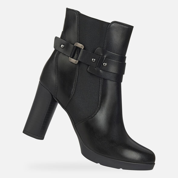 WOMAN ANKLE BOOTS GEOX ANYLLA HIGH WOMAN - 1