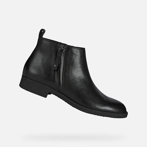ANKLE BOOTS WOMAN GEOX JAYLON WOMAN - null