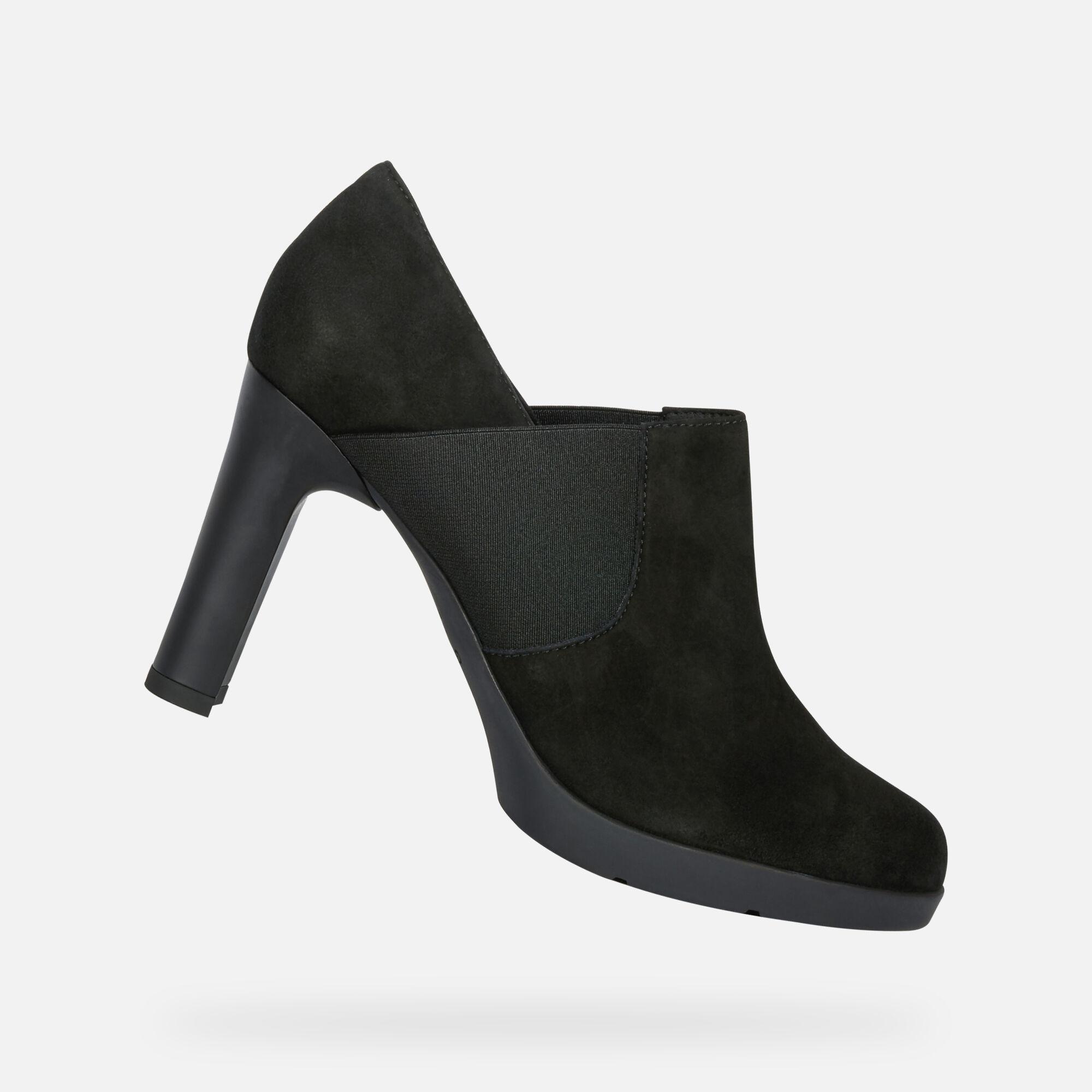 GEOX Décolleté Nero Donna Scarpe Décolleté,geox scarpe