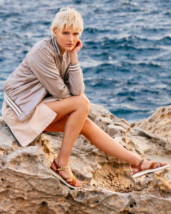WOMAN SANDALS GEOX HIVER WOMAN - 8