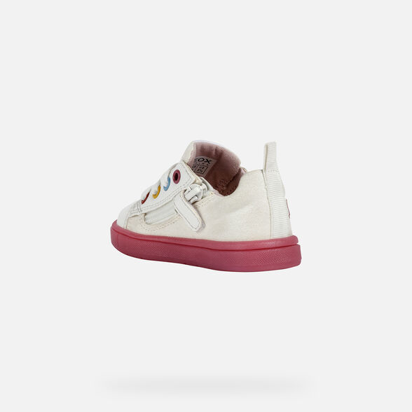 BABY SNEAKERS GEOX TROTTOLA BABY GIRL - 4