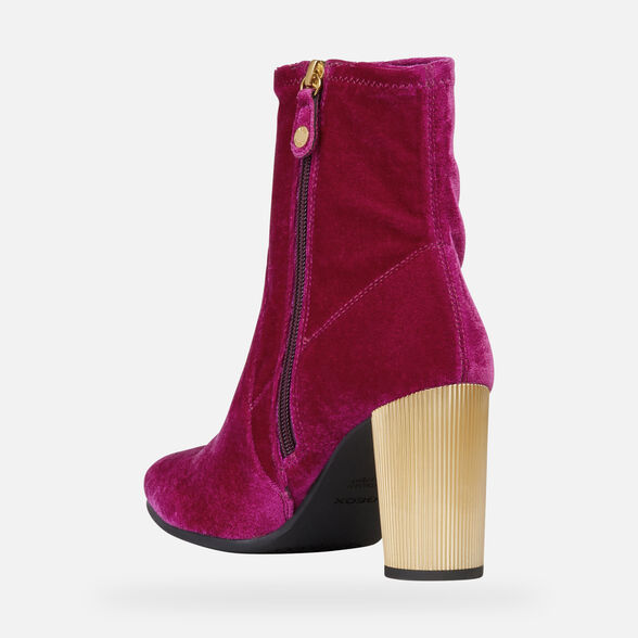 ANKLE BOOTS WOMAN GEOX PEYTHON WOMAN - 4