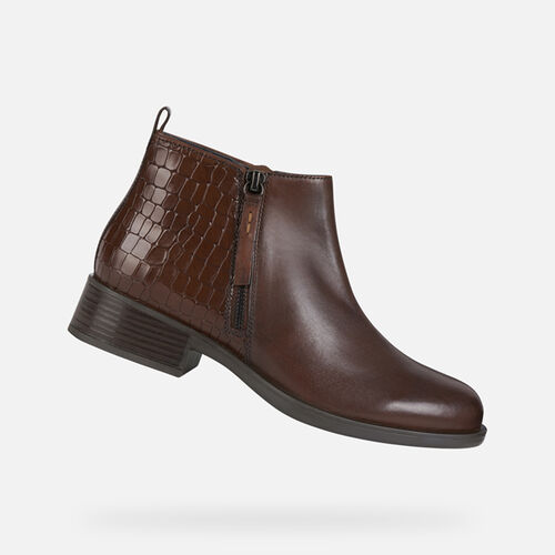 ANKLE BOOTS WOMAN GEOX RESIA WOMAN - null