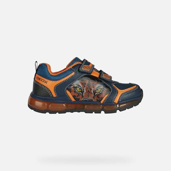 Todo tipo de meteorito Represalias  Geox ANDROID BOY Niño: Sneakers Azul marino | Geox® OI 20/21