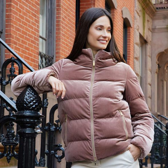 puede desierto Valiente  Geox FELYXA Woman: Dark pink Jacket | Geox Fall Winter