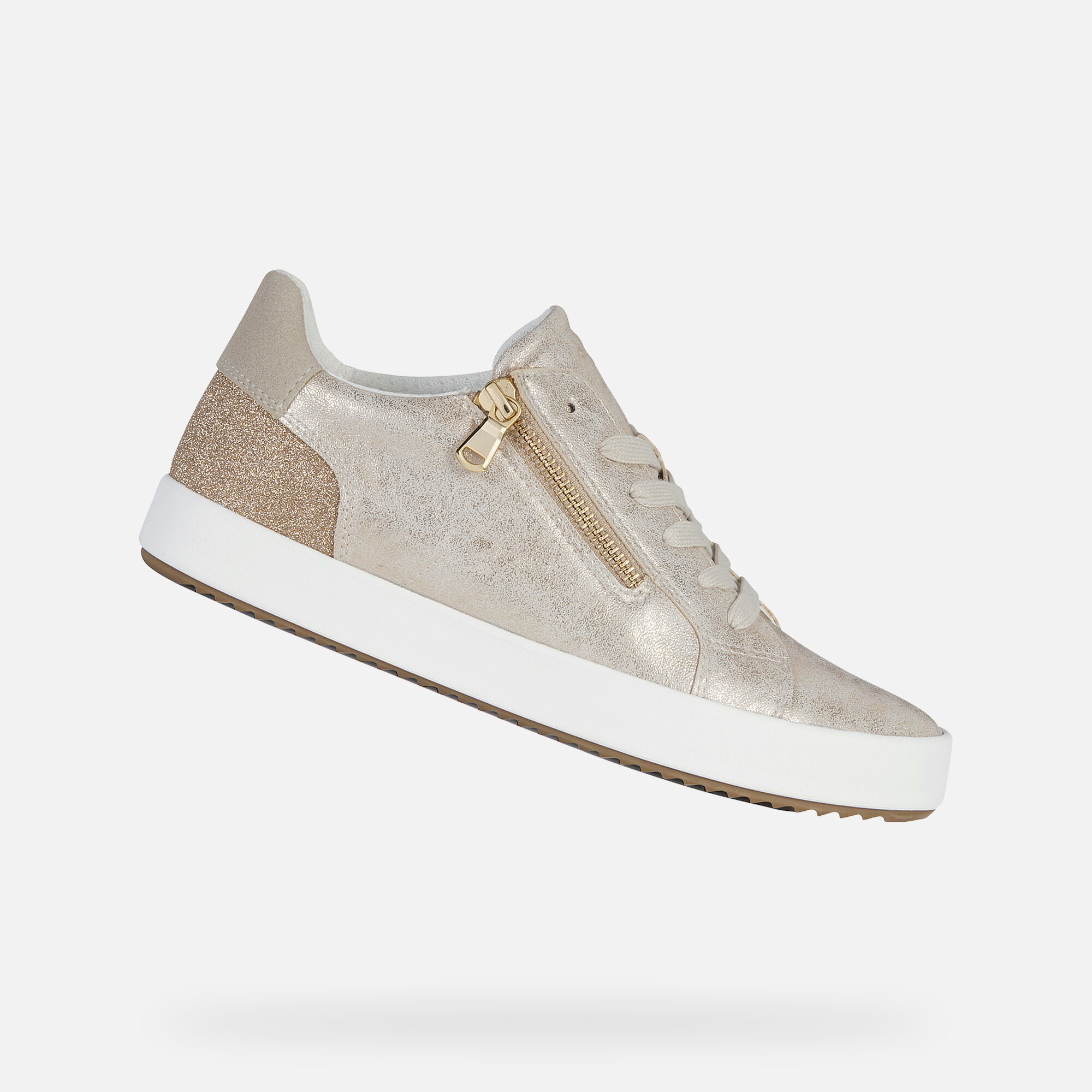 Geox BLOMIEE Woman: Lt Gold Sneakers