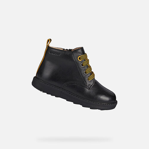 MID-CALF BOOTS BABY GEOX HYNDE BABY BOY - null