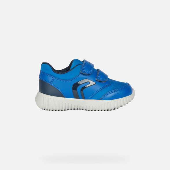 LOW TOP BABY GEOX WAVINESS BABY BOY - 2