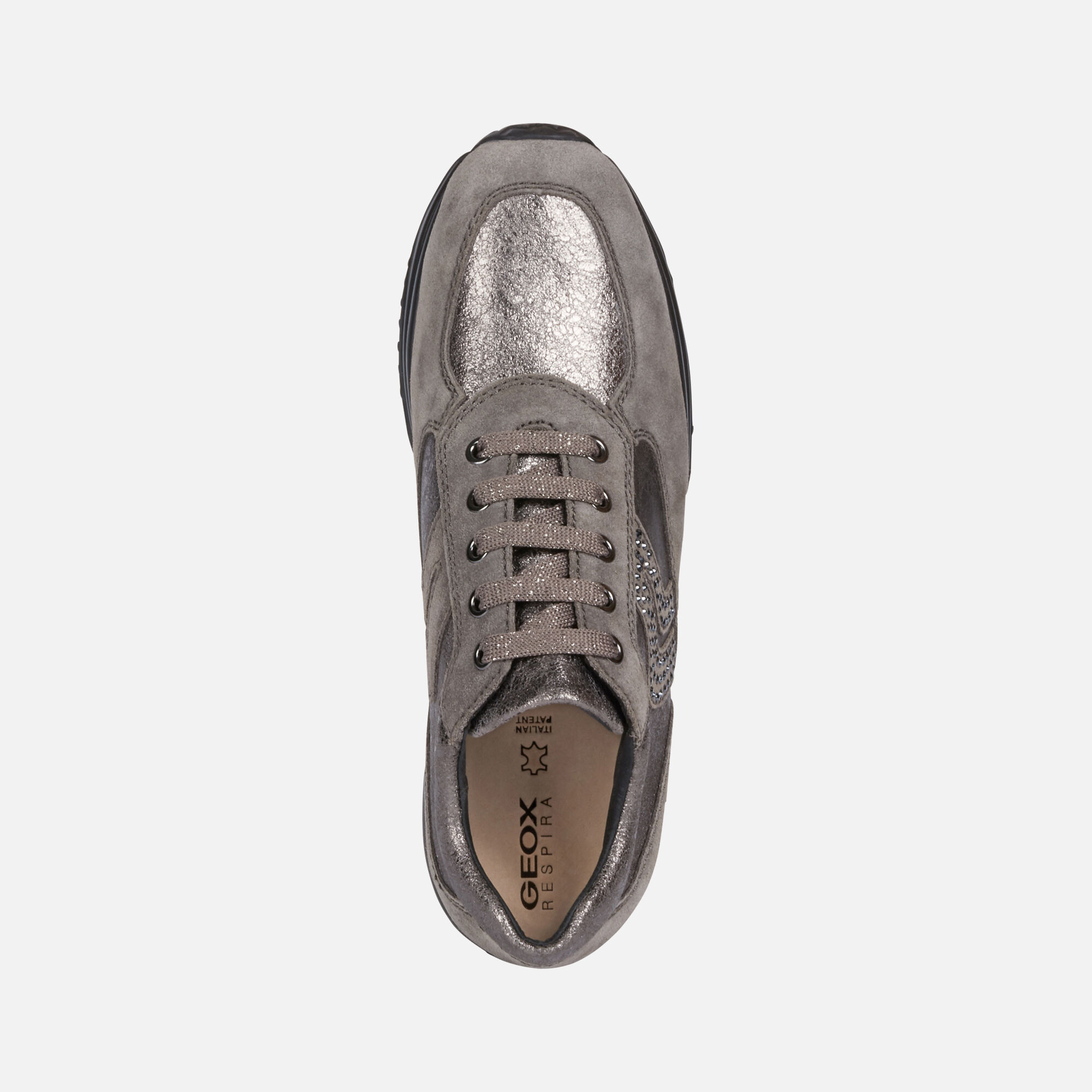 Geox HAPPY Donna: Sneakers Basse Piombo | Geox ®