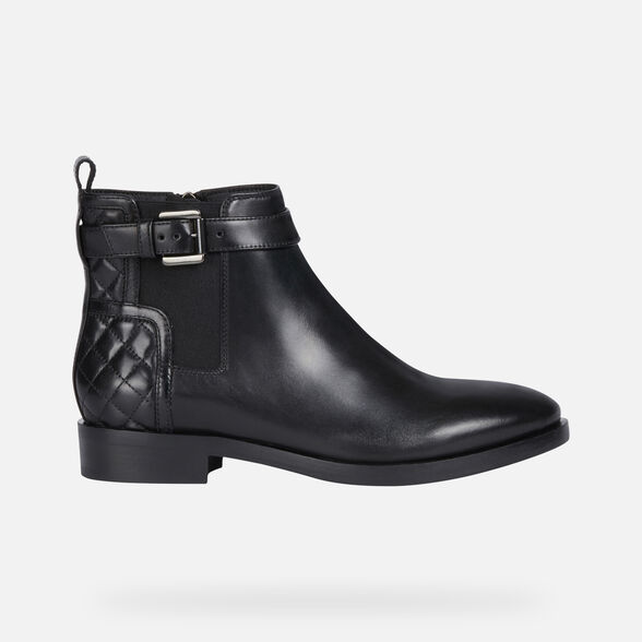 ANKLE BOOTS WOMAN GEOX BROGUE WOMAN - 2