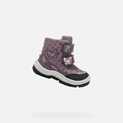 ANKLE BOOTS BABY GEOX FLANFIL BABY GIRL ABX