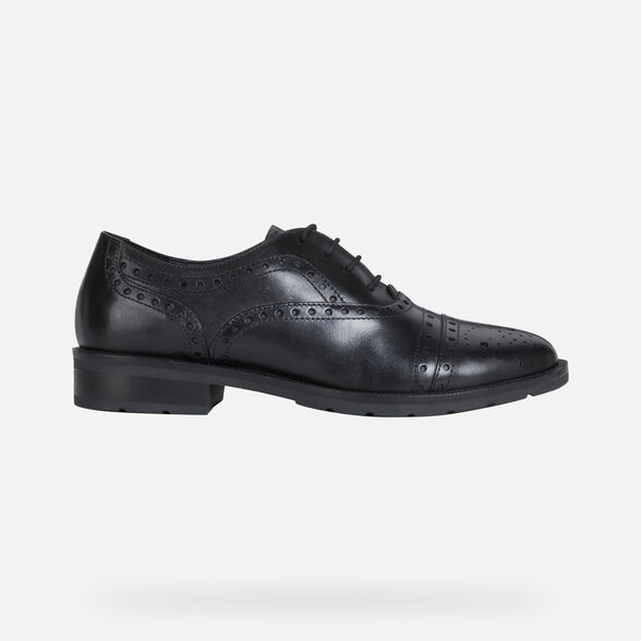 LACE UPS AND BROGUES WOMAN GEOX BETTANIE WOMAN - 2