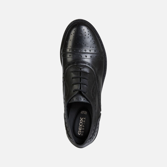 LACE UPS AND BROGUES WOMAN GEOX BETTANIE WOMAN - 6