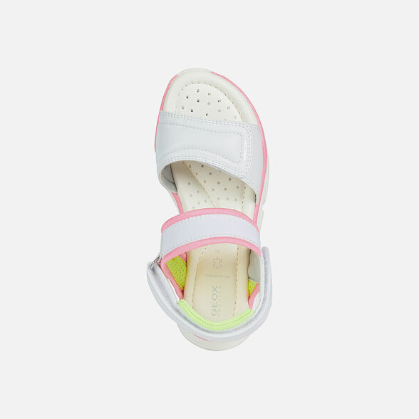 GIRL SANDALS GEOX LUNARE GIRL - 6