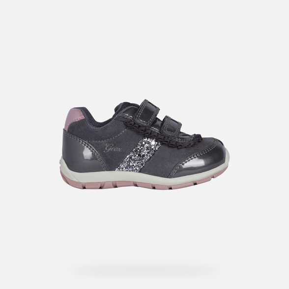 LOW TOP BABY GEOX SHAAX BABY GIRL - 2