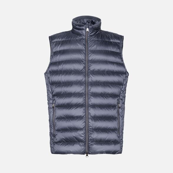 gran colección Moda diseño profesional Geox M DERECK Chaqueta Blu de Hombre | Geox Sitio Oficial